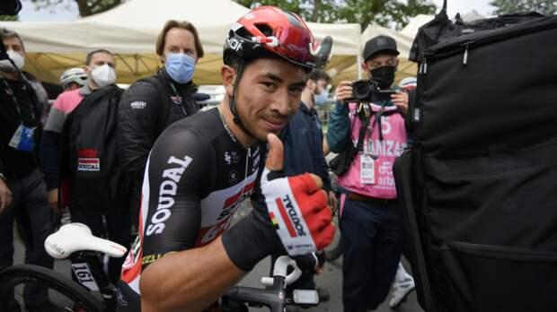 Юэн победил на пятом этапе «Джиро д'Италия»