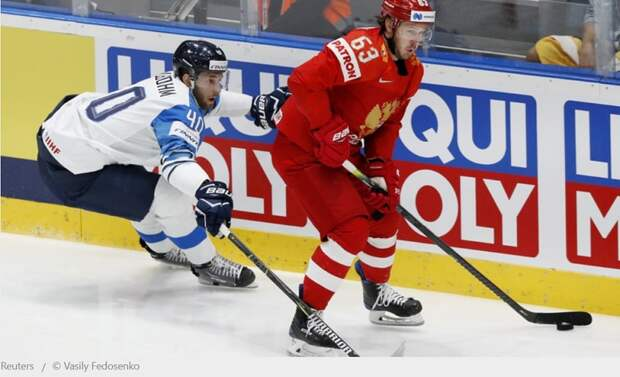 Россия — Финляндия в полуфинале чемпионата мира по хоккею с шайбой