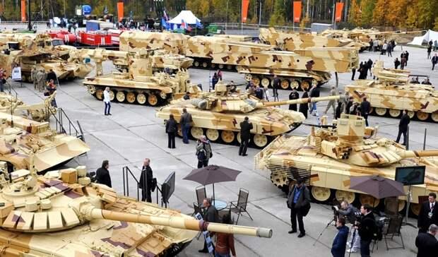 Россия в 2020 году поставила оружие за рубеж на сумму 13 миллиардов долларов
