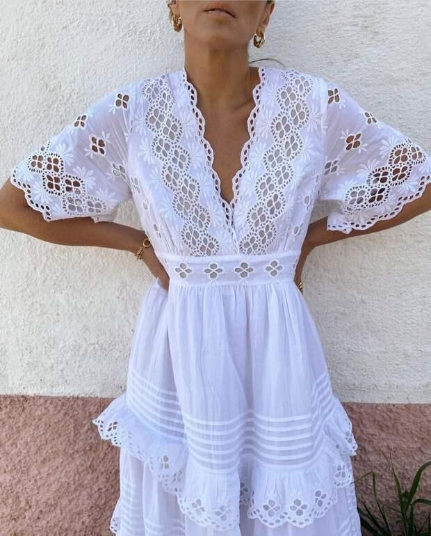 Как не ошибиться с вырезом головины, выбирая платье