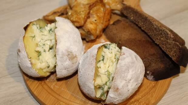 Восхитительный запеченный картофель с сыром