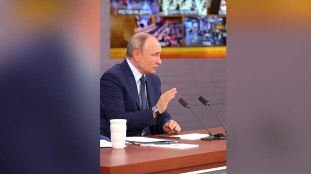 Путин не позволил американскому журналисту перебивать себя во время интервью