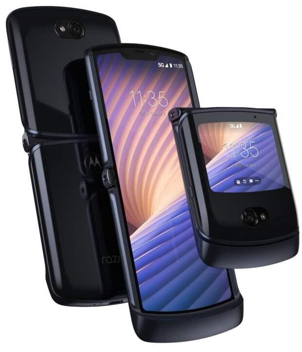 В России открылся предзаказ на раскладной смартфон с гибким экраном – motorola razr 5G