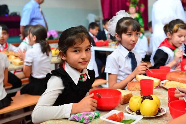 Россия направит $21,2 млн в систему школьного питания в Таджикистане