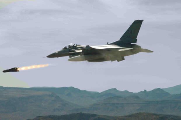 Израиль нанёс мощный ракетный удар по территории Сирии