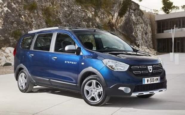 Ларгусы по-буржуйски: в Европе представлены обновленные Dacia Lodgy и Dokker