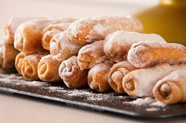 Печенье Сигареты с орехами. Тающее во рту лакомство с незабываемым вкусом