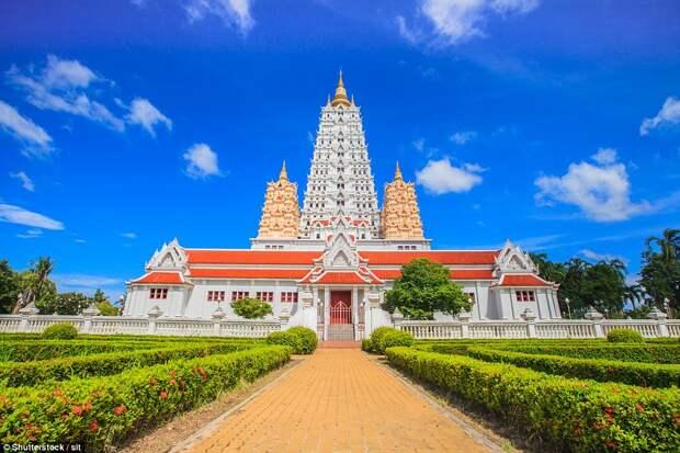 Пагода в Таиланде