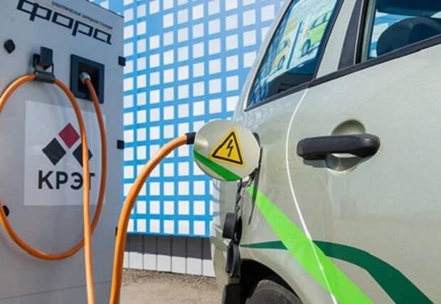 """Газовые АЗС """"Газпрома"""" станут зарядниками для электрокаров"""