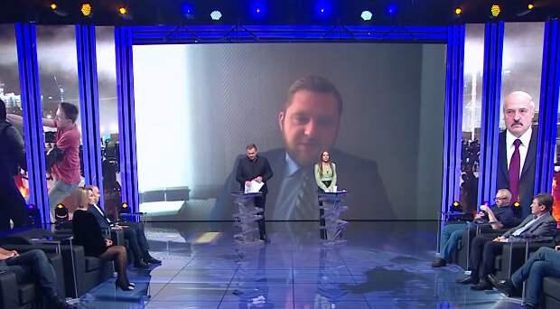 Заявление белорусского журналиста на ТВ Украины вызвало неадекватную реакцию у ведущих