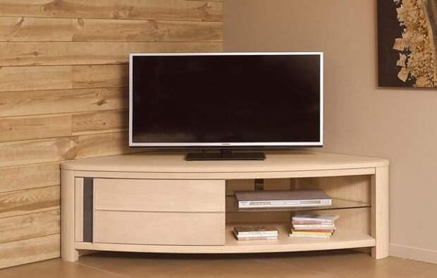 угловой комод под телевизор