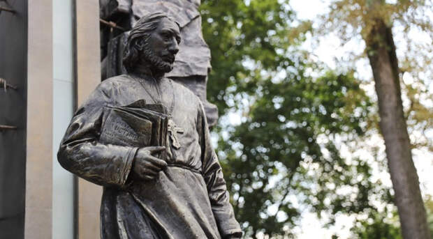 Памятник философу и богослову Павлу Флоренскому открыли в Сергиевом Посаде