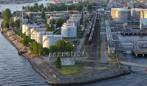 810 тысяч тонн белорусских нефтепродуктов готов принять Петербургский терминал в2021 году