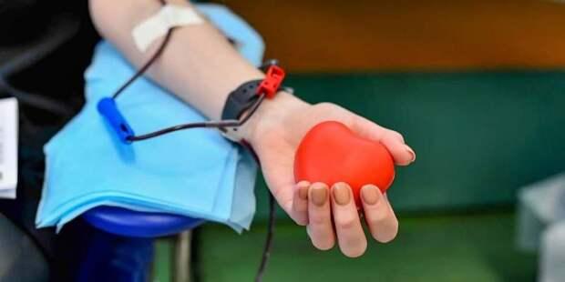 Кровь в качестве доноров в прошлом году в столице сдали более 85 тысяч человек