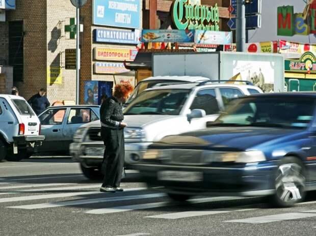 Пешеходы нарушают ПДД чаще водителей