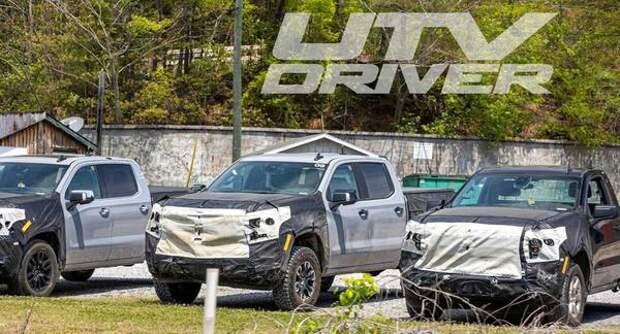 Обновлённому пикапу Chevrolet Silverado 2022 модельного года устроили тест-драйв в горах