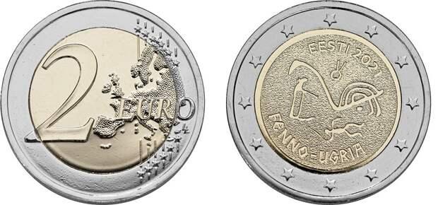 Карельские петроглифы появятся на монете 2 евро