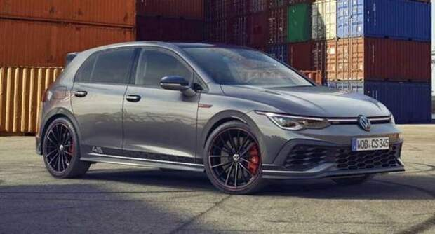 Volkswagen анонсировал выход особой версии Golf GTI Clubsport 45