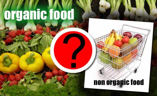Что лучше «органическая еда» или обычная, из магазина?