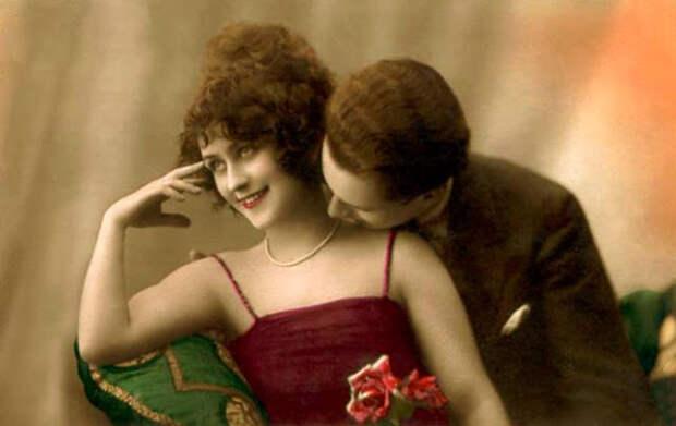 Французские открытки, в которых показано, как романтично целовались в 1920-е годы 37