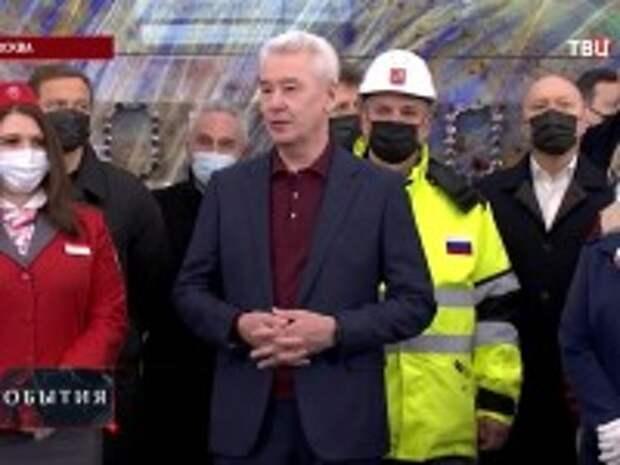Собянин открыл станцию метро «Электрозаводская» Большой кольцевой линии