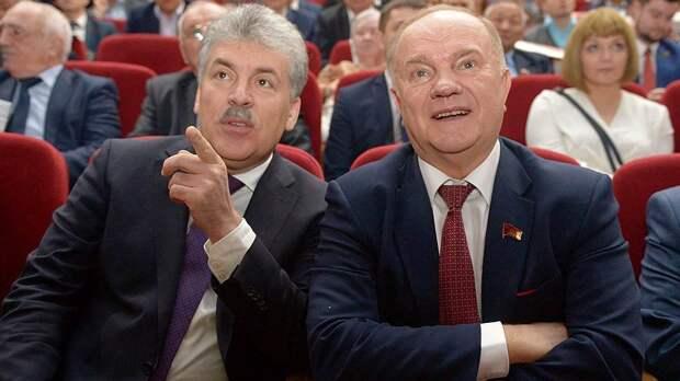 Зюганов попросил Кудрина выяснить, кто уничтожает совхоз Грудинина