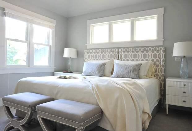 Изголовье кровати: современные способы оформления (71 фото)