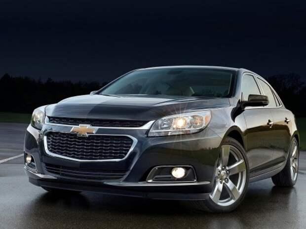 Новый Malibu станет одним из самых заманчивых предложений Chevrolet