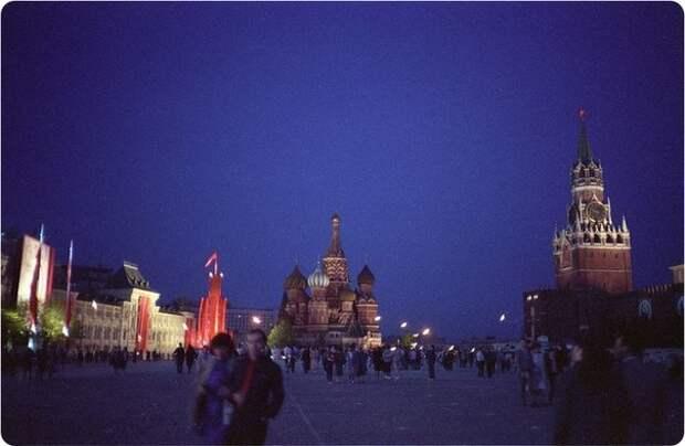 ПЕРЕСТРОЕЧНАЯ МОСКВА 1989г.