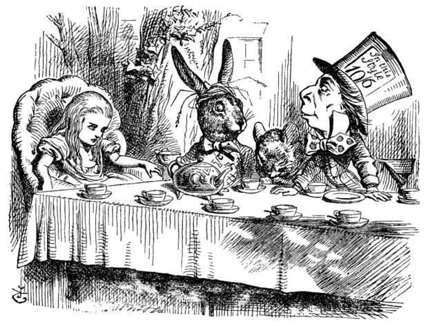Иллюстрации к книге Льюиса Кэрролла. \ Фото: google.com.