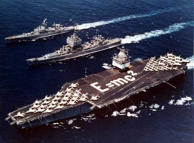 Авианосец Enterprise. Первый атомный авианосец в истории