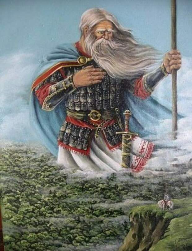 Лики славянских богов. СВЯТОГОР.