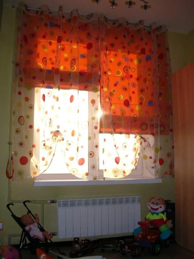 Римские шторы — беспроигрышный вариант декорирования окон