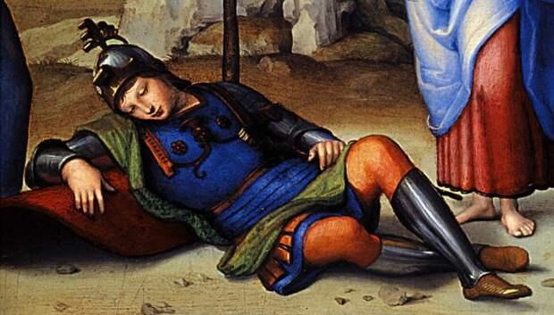 В Средние века спали сидя, чтобы быстро отразить нападение / Фото: liveinternet.ru