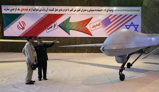 """Новый иранский ударный БПЛА """"Kaman-22"""""""