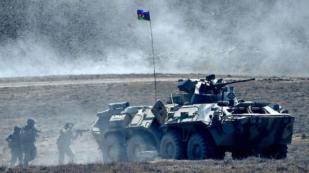 Азербайджан объявил о начале военных учений