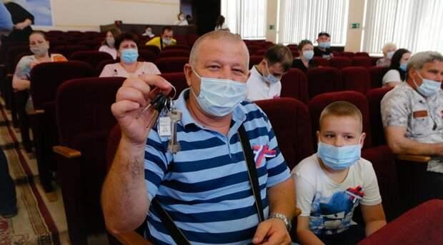 В Новороссийске 36 семей переселились в новые квартиры