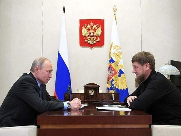 В Кремле ответили на предложение Кадырова о