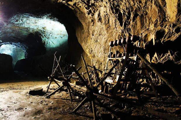 Chmee2. Штольня подземного комплекса «Гигант»