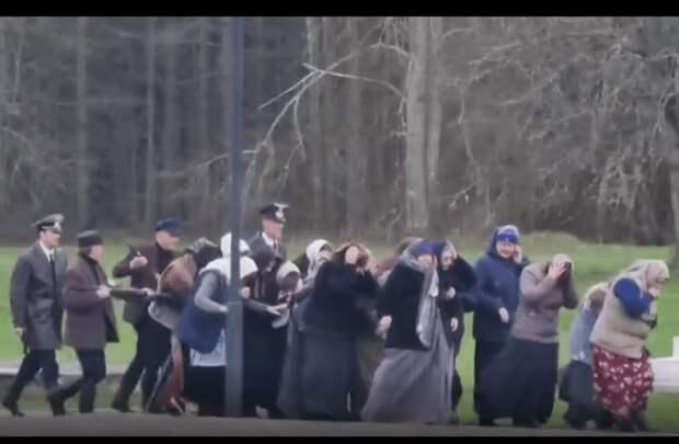 В Беларуси провели «казнь» у мемориала под Витебском