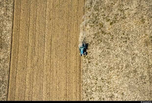 Виды Казахстана с высоты птичьего полёта