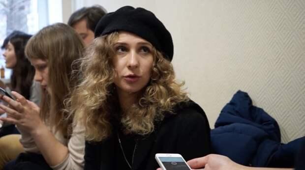 В Москве задержали участницу Pussy Riot
