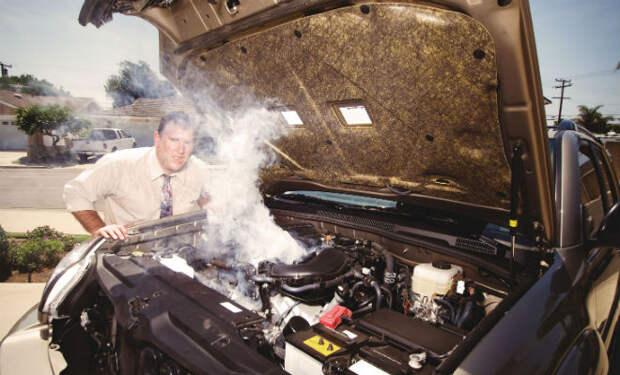 Как быстро охладить двигатель в жару. Советы механика