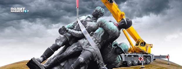 Украинские боевики анонсируют массовый снос памятников героям Великой Отечественной