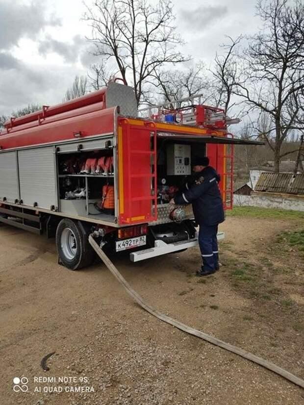 Сотрудники ГКУ РК «Пожарная охрана Республики Крым» провели пожарно-тактическое занятие на базе культового сооружения