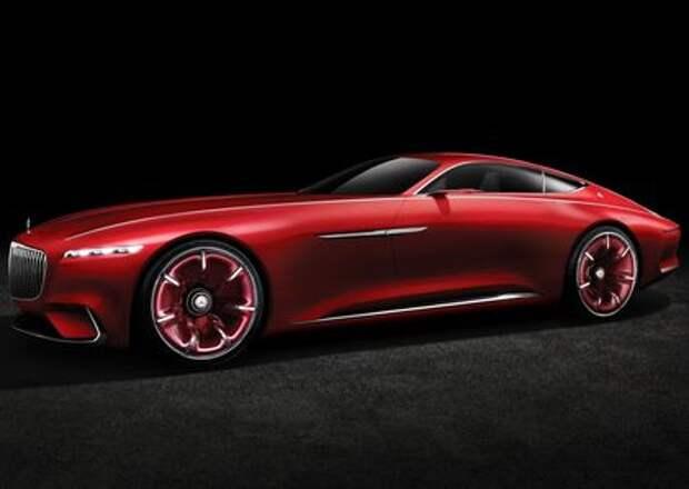 Vision Mercedes-Maybach 6 будет соблюдать тишину