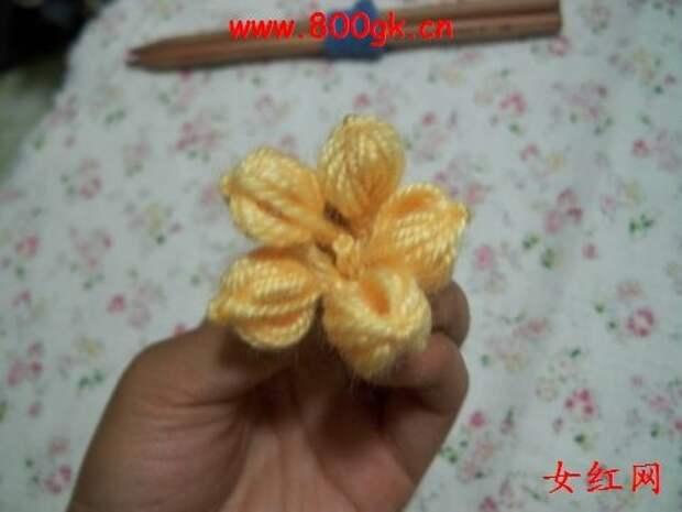 Цветочки крючком для вязания пледов, покрывал, подушек и сидушек (11) (500x375, 91Kb)