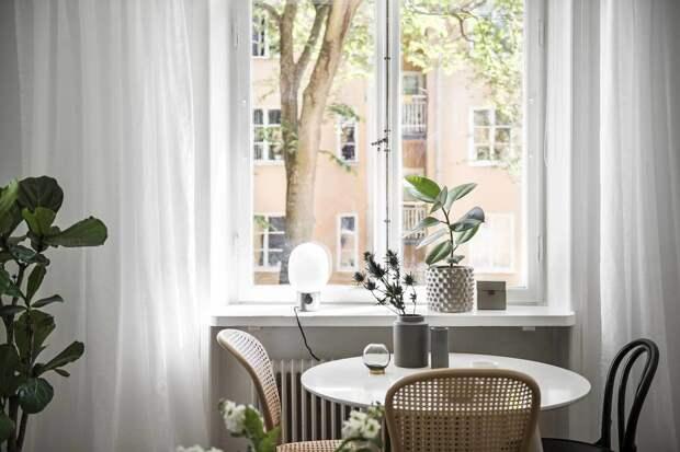 Эргономичный интерьер квартиры площадью 22 кв. метра