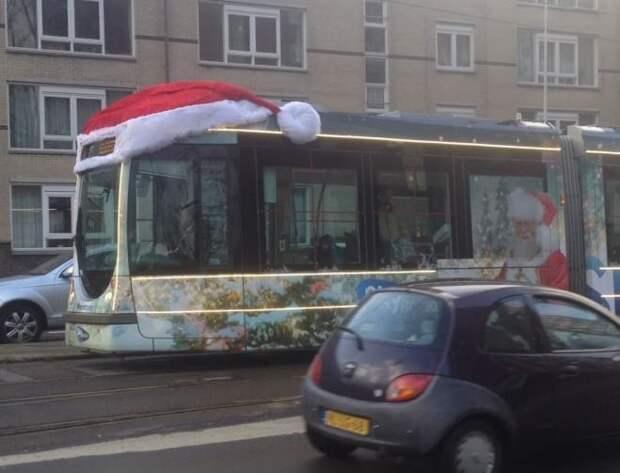 Автобус где-то в Норвегии)