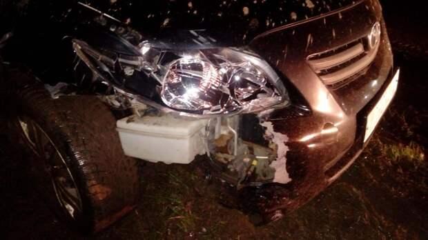 В Глазове пьяный водитель сбил пешехода и убежал